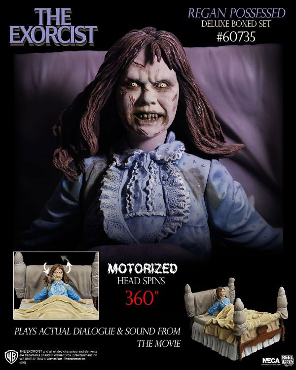 NECA Exorcist Regan Possessed Deluxe Box Set