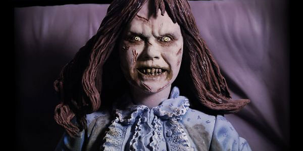 Video: see NECA's Possessed Regan figurine with rotating head in action