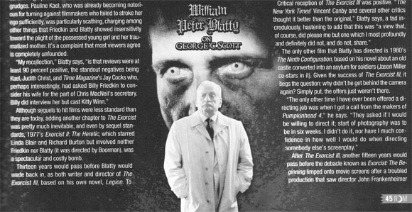 Article: William Peter Blatty and Owen Roizman revisit THE EXORCIST for Rue Morgue Magazine
