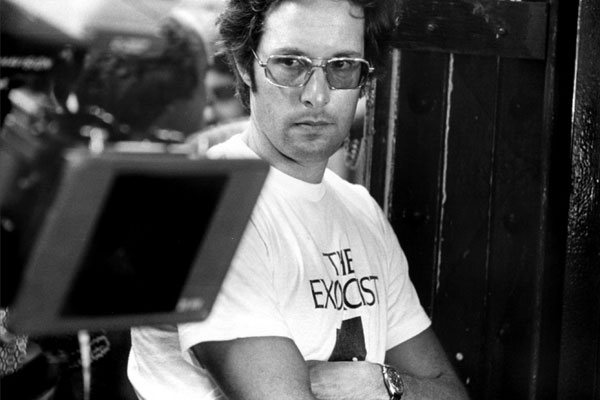 William Friedkin on the set of The Exorcist in 1973