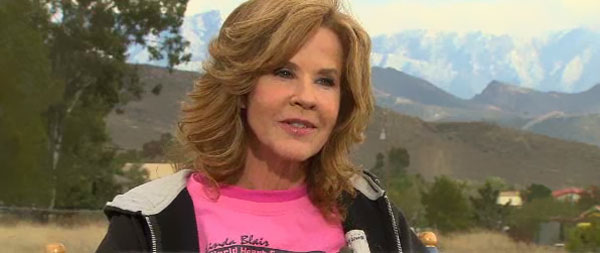 Linda Blair on TODAY, Oct 10 2012