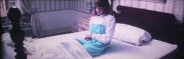 Linda Blair in rare test footage