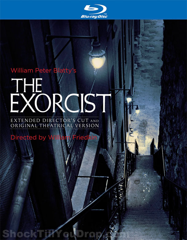 The Exorcist 40th Anniversary cover artwork via ShockTillYouDrop