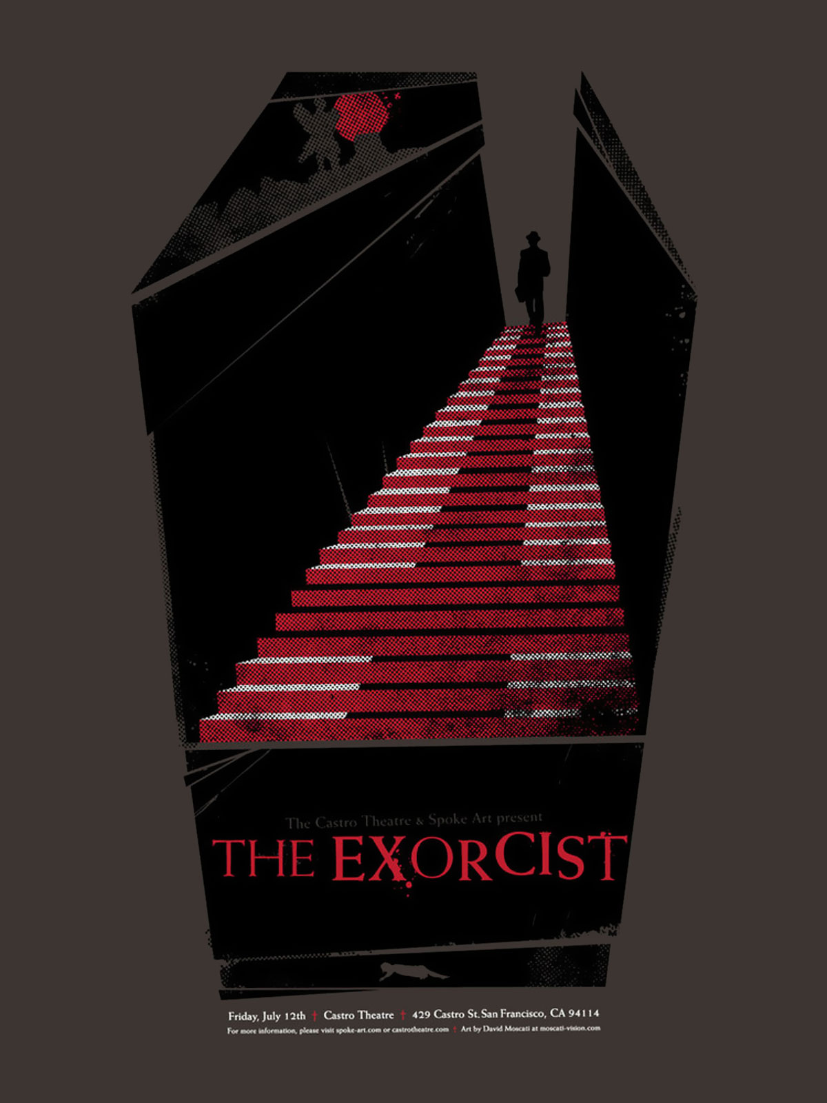 The Exorcist poster for The Castro Theatre screening