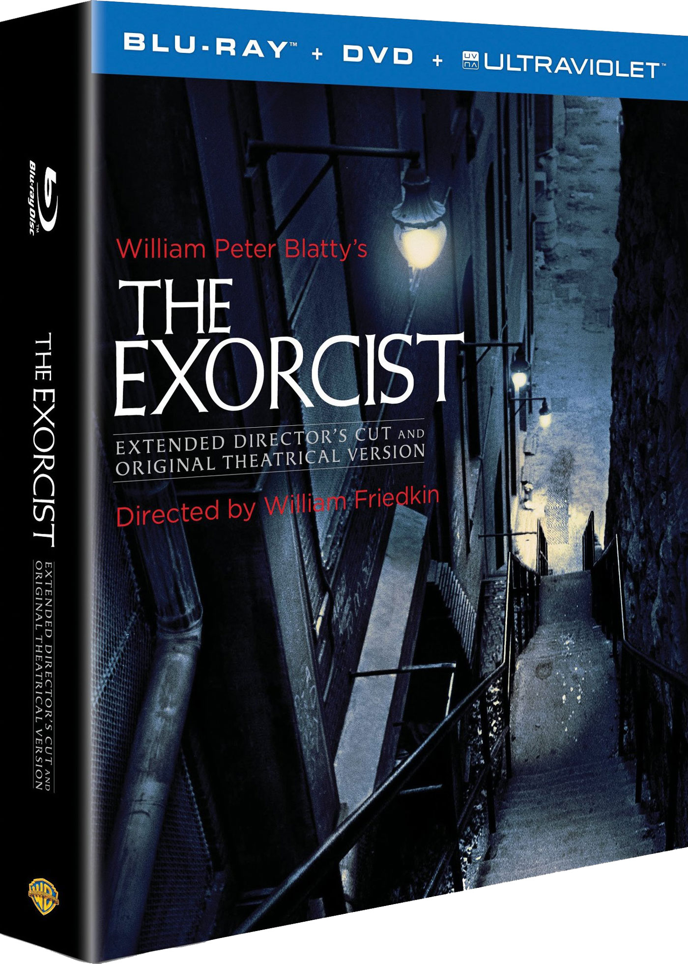 The Exorcist 40th Anniversary Blu-ray cover