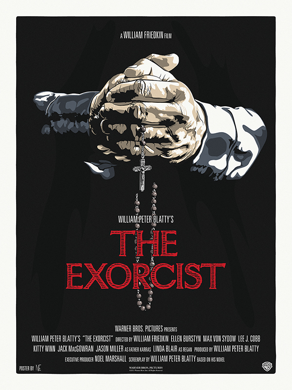 NE-40th-commemorative-EXORCIST-poster