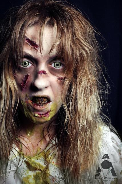 Exorcist Halloween Prop