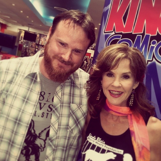 Yours truly with Linda Blair.
