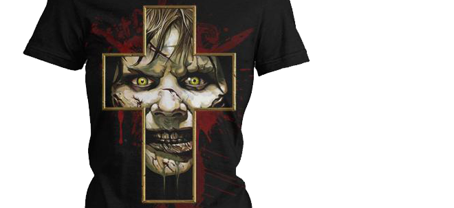 Regan's Curse T-Shirt By Fright-Rags