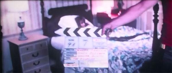 Linda Blair in unseen test footage