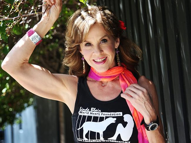 Linda Blair in Sydney Australia